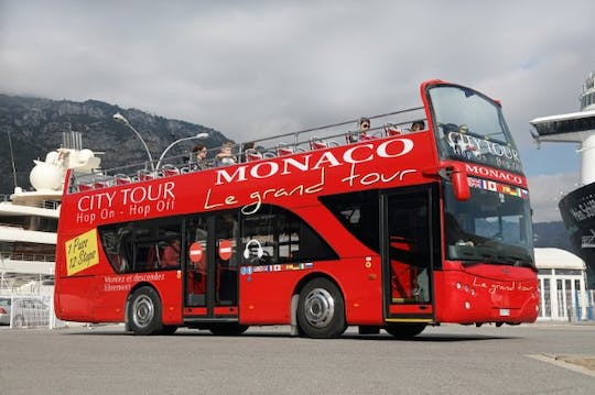 Hop on, hop off Le grand Tour Monaco