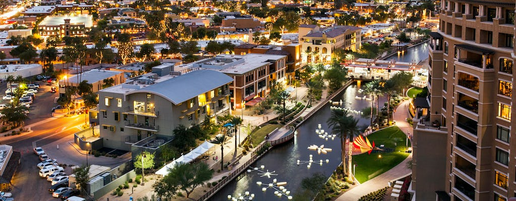 Phoenix and Scottsdale city highlights half-day tour