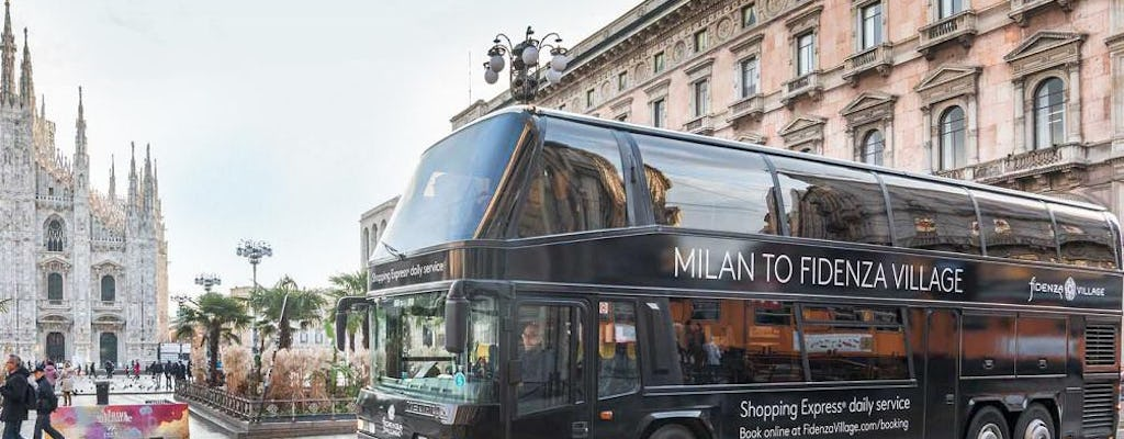 Transfer to Fidenza Village Shopping Outlet from Milan