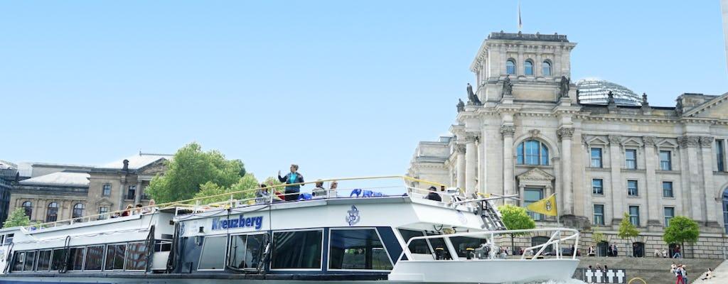 Hop-on hop-off Stadtrundfahrt mit dem Boot für 24 oder 48 Stunden in Berlin
