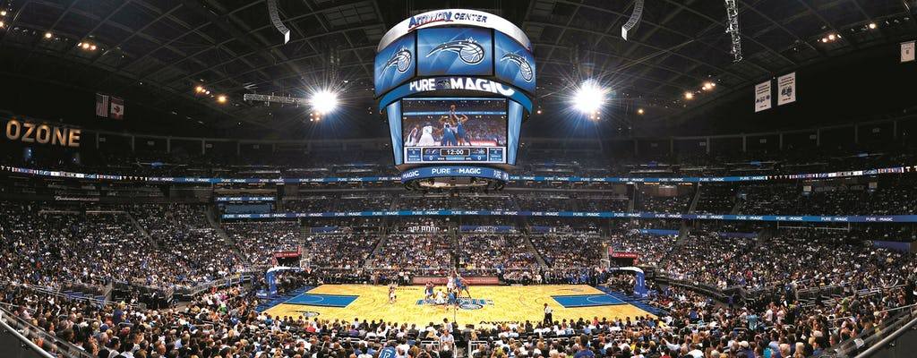 Billets pour le match de basket NBA Orlando Magic