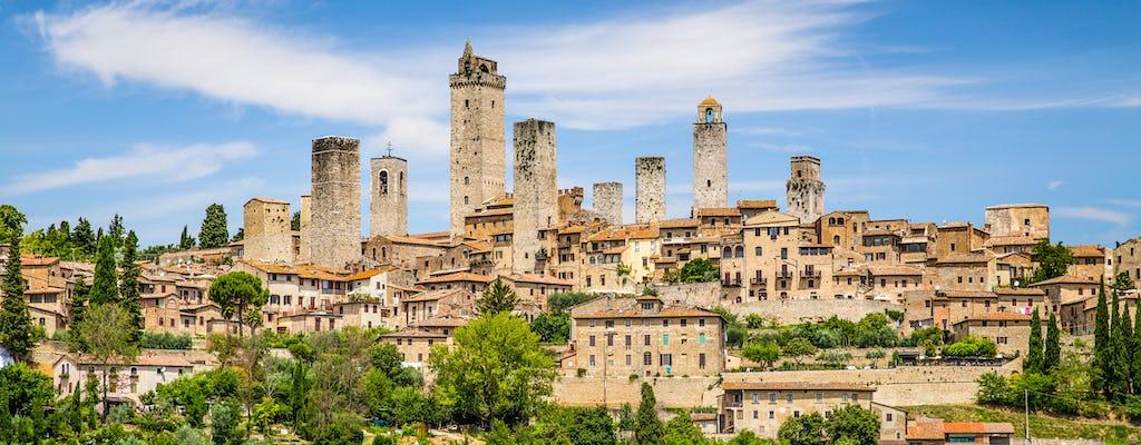 Tour di San Gimignano, Siena e del Chianti con partenza da Montecatini