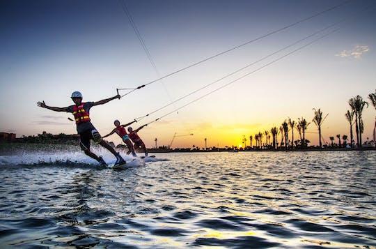 Experiencia de wakeboard por cable en Marrakech