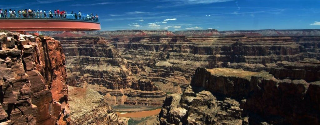 Grand Canyon West Rim day trip from Las Vegas with Skywalk and Helicopter upgrades