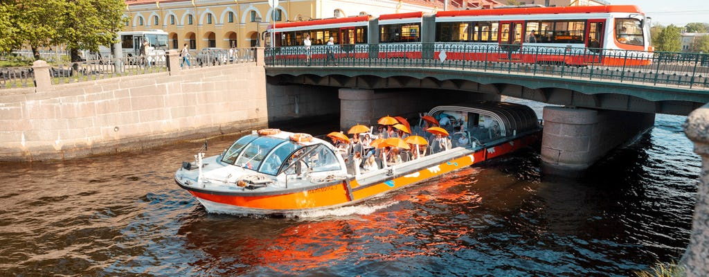 Boat tour in St Petersburg with Audioguide