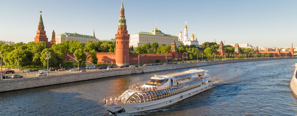 Moscow 2-hour river cruise on a yacht