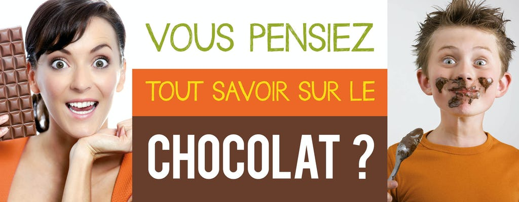 Entrance tickets to Chocolate Museum Choco-Story in Paris