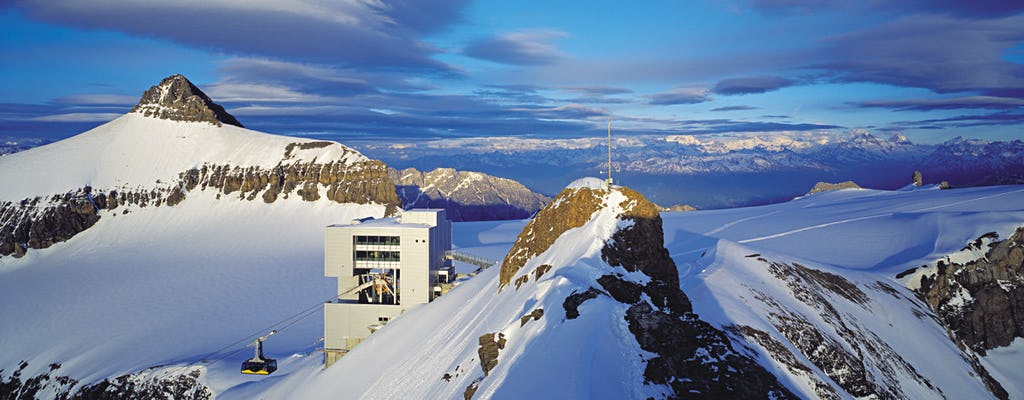 Glacier 3000 with cable car and Montreux day tour from Lausanne by bus