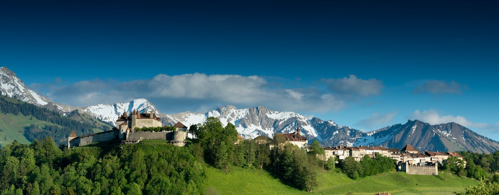 Gruyères, cheese museum and chocolate factory tour from Lausanne by bus