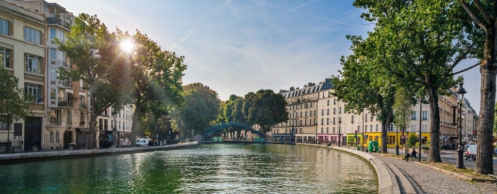 Cruise on the Seine River and Canal Saint-Martin from Orsay Museum