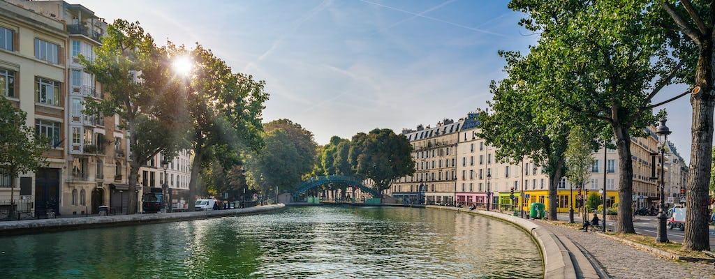 Круиз по Сене и каналу Сен-Мартен из Музея Орсэ