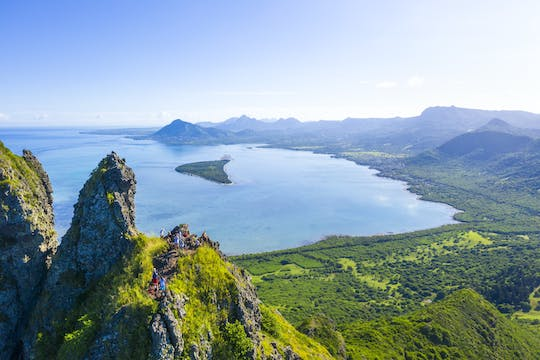Hiking Le Morne Mountain