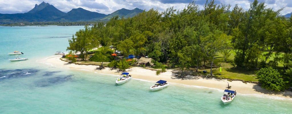 Mauritius Fünf-Inseln-Schnellboot-Tour