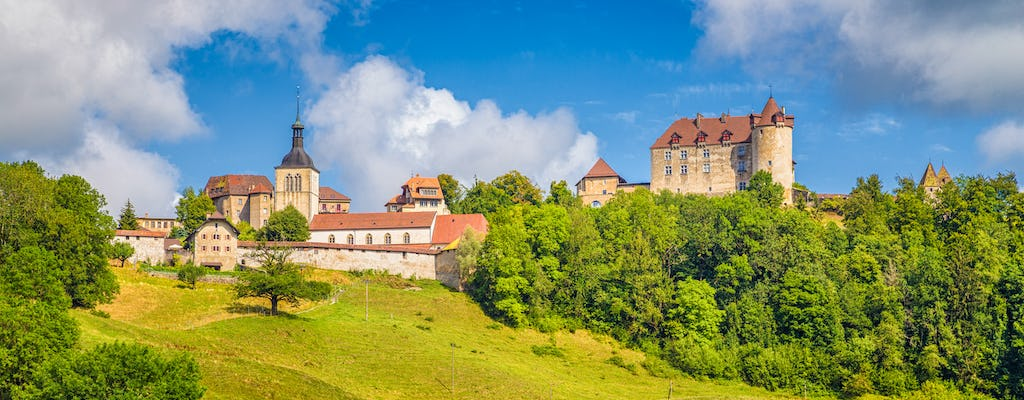 Gruyères chocolate and cheese tour with Golden Pass train ride