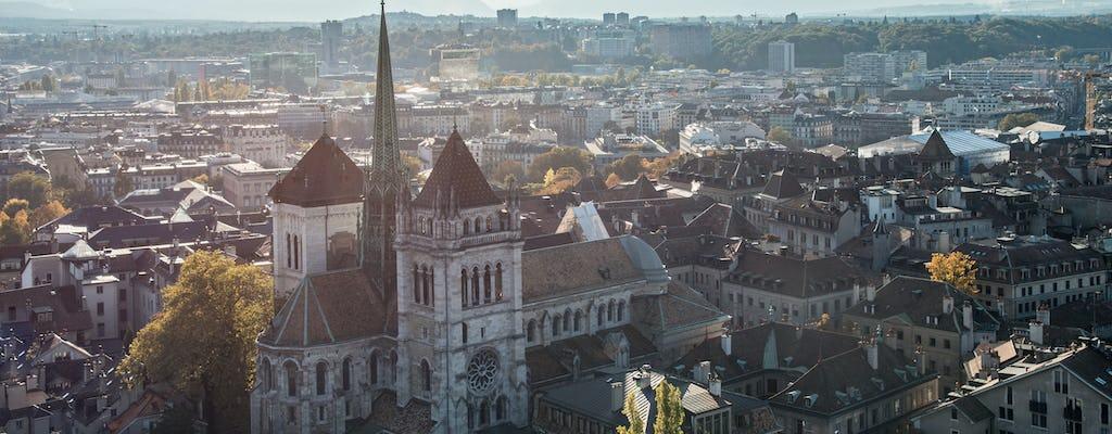 Однодневная поездка в Шамони и Женеву обзорная экскурсия по городу с канатной дороги