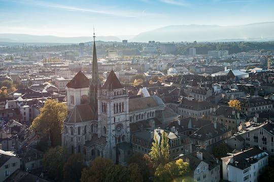 Excursão de dia inteiro para Chamonix Mont Blanc e passeio pela cidade de Genebra com teleférico