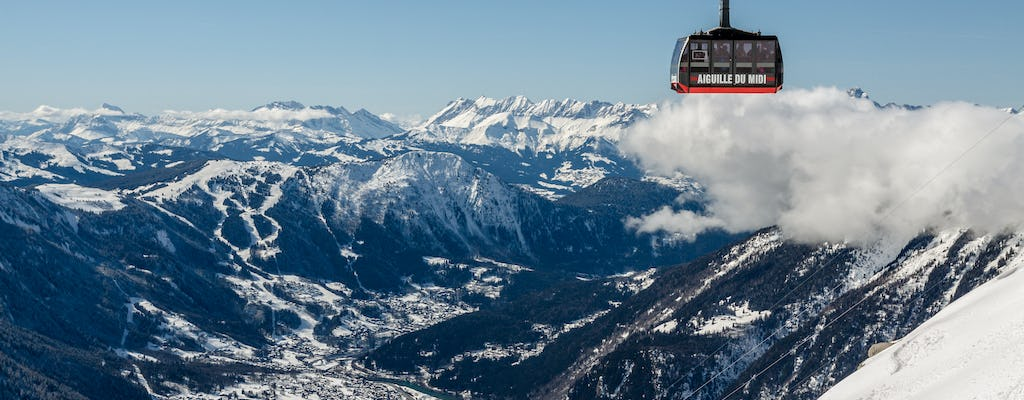Day trip to ChamonixMont Blanc and Annecy with cable car from Geneva