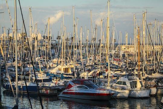 Viagem de barco privado de 1 hora em Barcelona