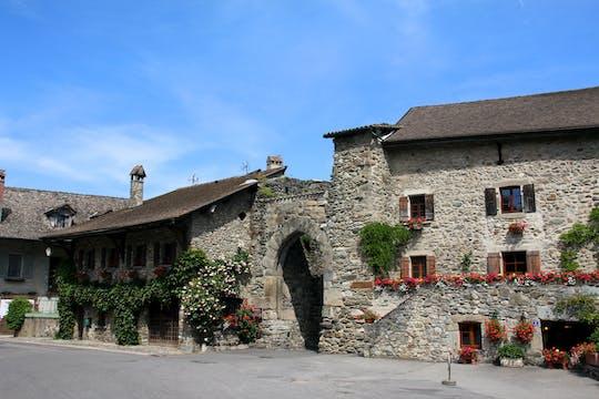 Jednodniowa wycieczka do Chamonix Mont Blanc i średniowiecznej wioski Yvoire z kolejką linową