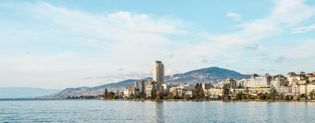 Excursión de un día a Chaplin, Montreux y el castillo de Chillon desde Ginebra