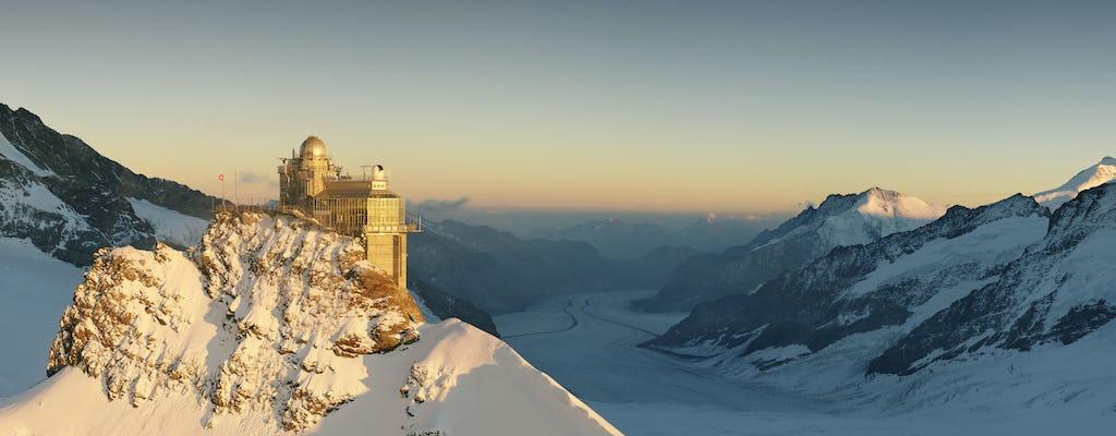 Gita di un giorno a Interlaken e Jungfrau con treno da Ginevra