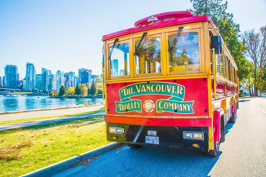 Pass turistico di 24 ore hop-on hop-off per Vancouver