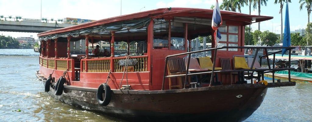Rice Barge Cruise Bangkok