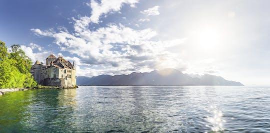 Tour d'hiver de Chaplin, Montreux et le château de Chillon