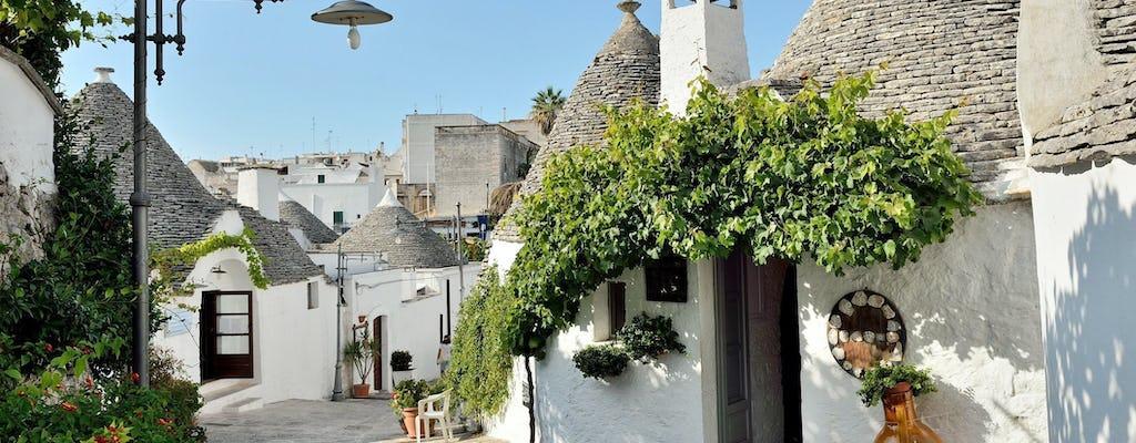 Escursione a Ostuni, Alberobello e Polignano da Lecce