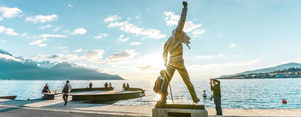 Tour d'oro di Chaplin, Montreux e del castello di Chillon con crociera da Losanna