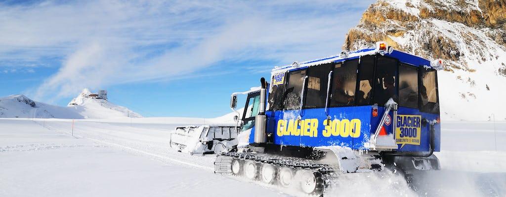 Tour dell'oro Glacier 3000 e Montreux da Losanna