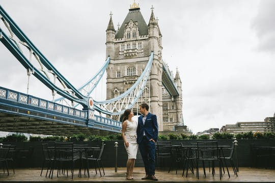 London professional photo shoot experience