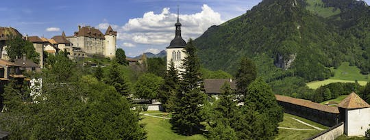 Gruyères chocolate and cheese tour from Lausanne with Golden Pass train ride