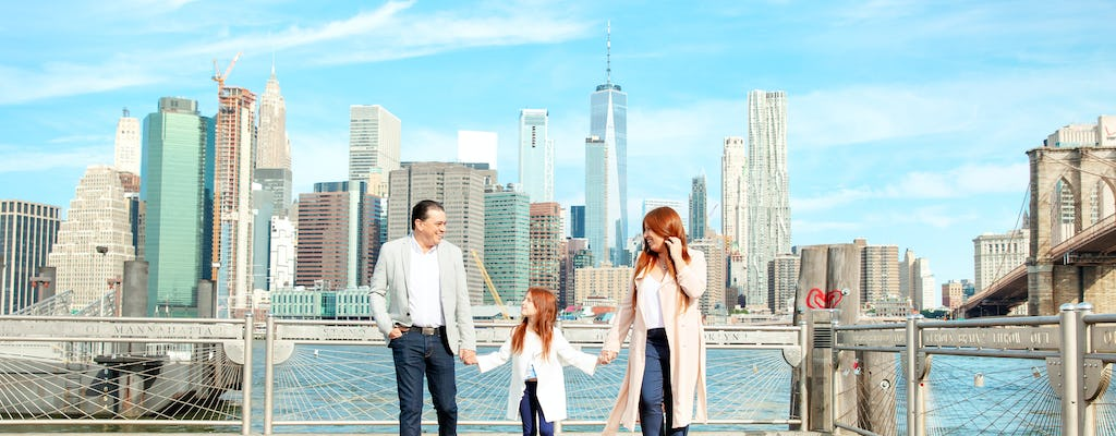 New York professional photo shoot experience