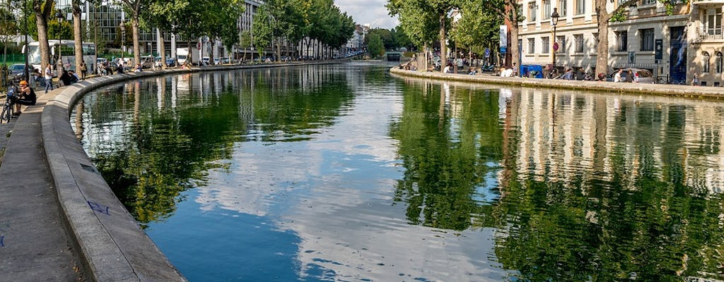 Cruise on Canal Saint-Martin and Seine River from La Villette Park