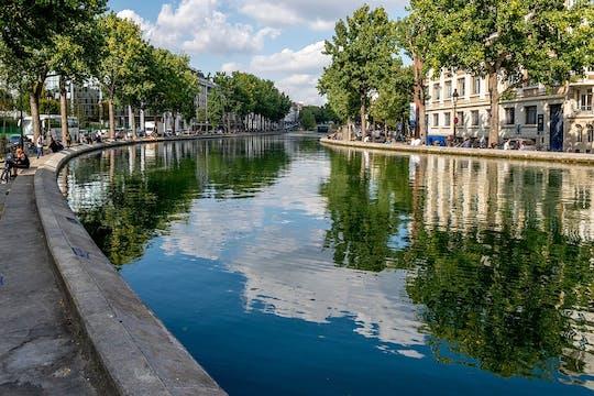 Круиз по каналу Сен-Мартен и сена от парка Ла-Виллет