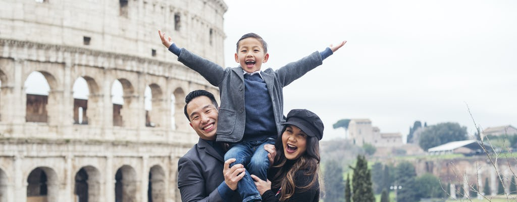 Rome professional photo shoot experience
