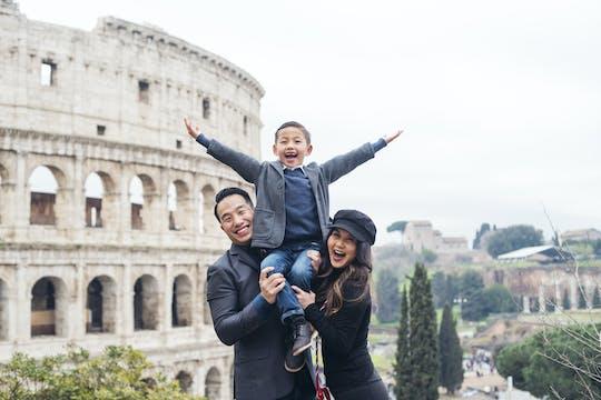 Ensaio fotográfico profissional em Roma