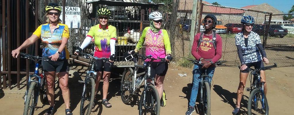 Ciclo em Soweto tour de meio dia