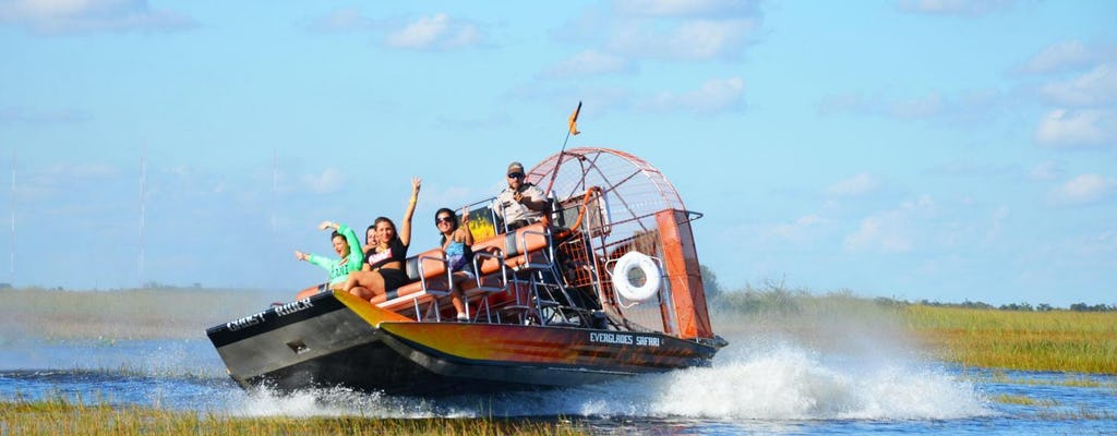 Everglades Safari Park admission tickets
