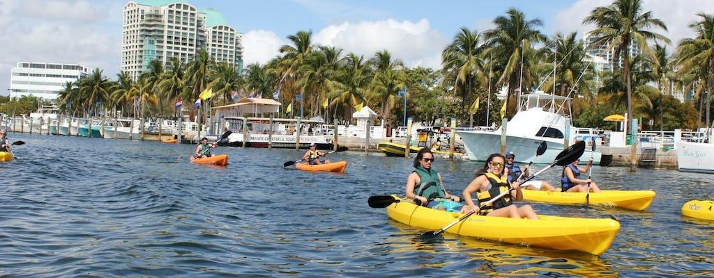 1 hora de alquiler de kayak individual o en tándem