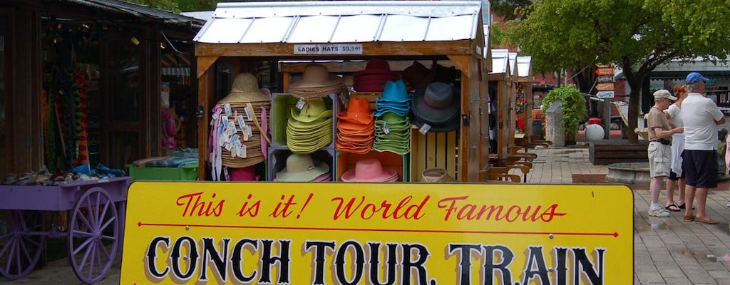 Key West day trip and conch train tour from Fort Lauderdale