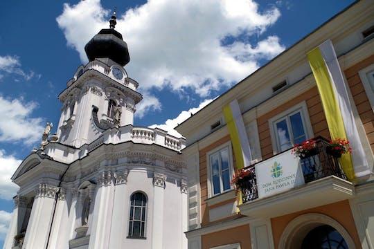Тур Пилигрим Папы Римского Иоанна Павла родном городе Вадовице из Кракова