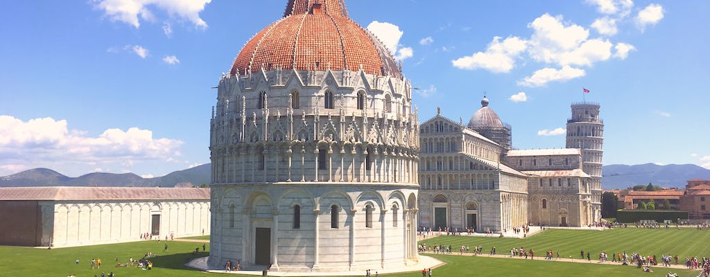 Baptistery, Cathedral and optional Leaning Tower guided tour