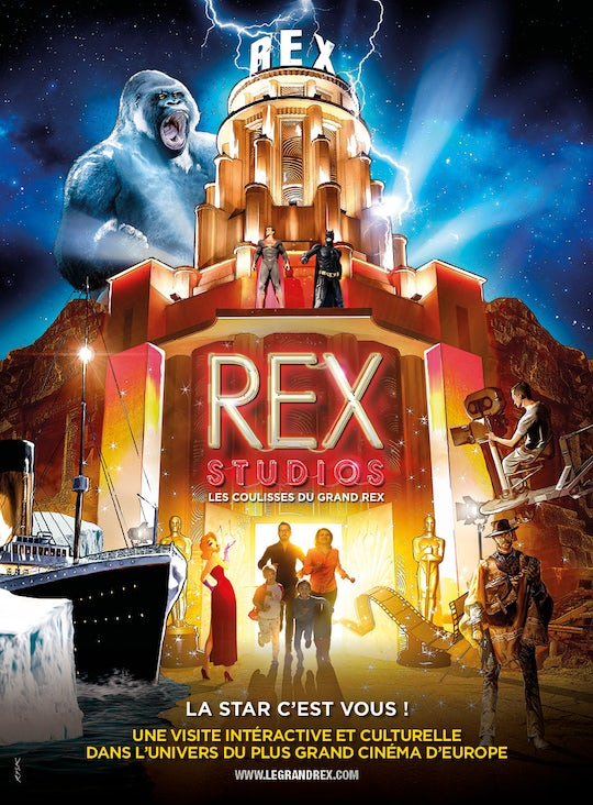 Interactive audioguided visit of the Rex Studios