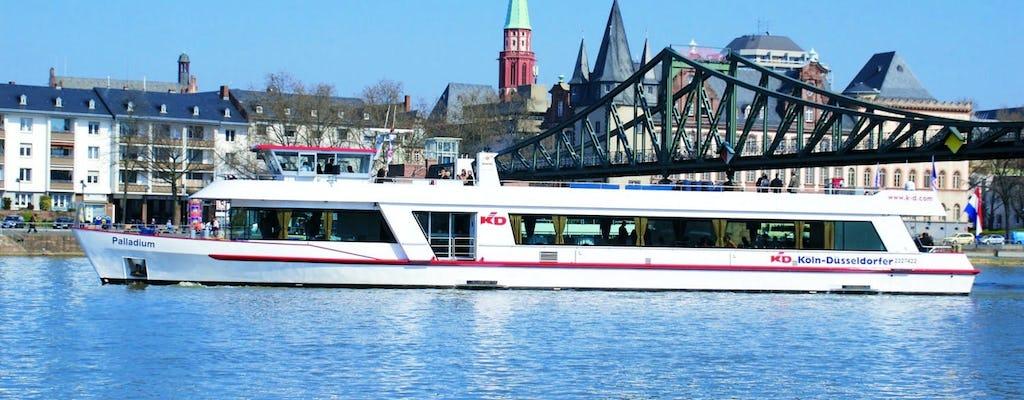 Crociera panoramica sul fiume in barca a Francoforte