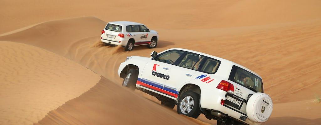 Safari por la mañana en el desierto con transporte desde Dubai