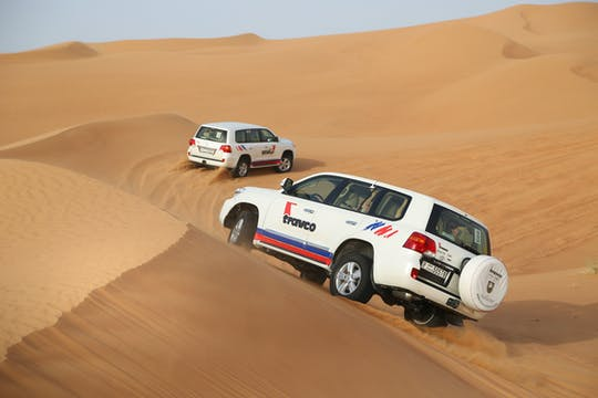Morning desert safari with transport from Dubai