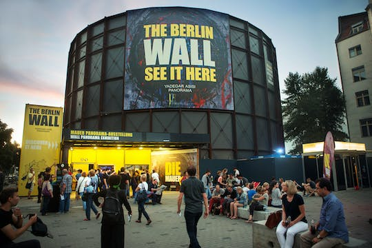 Tickets to ASISI PANORAMA BERLIN with the exhibition DIE MAUER (The Berlin Wall)