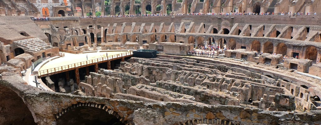 Colosseum, Roman Forum and Vatican full-day tour with lunch